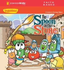 Book The Spoon in the Stone / VeggieTales: A Lesson in Serving Others by Doug Peterson