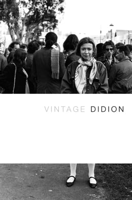 Book Vintage Didion by Joan Didion