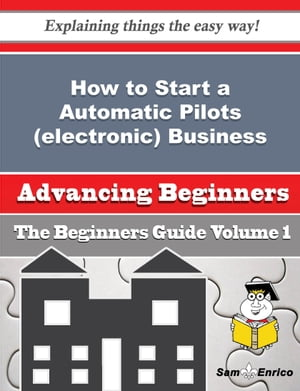 How to Start a Automatic Pilots (electronic) Business (Beginners Guide)