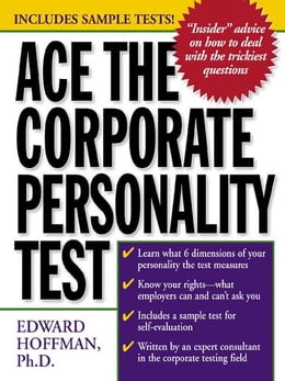 Book Ace the Corporate Personality Test by Hoffman, Edward