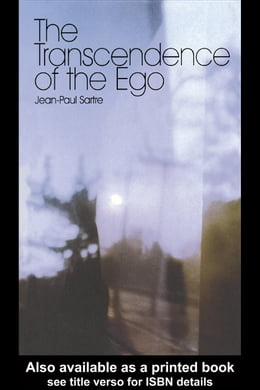 Book The Transcendence of the Ego by Sartre, Jean-Paul