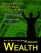What You Need to Know When Pursuing Wealth by John Mcload