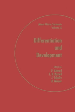 Book Differentiation and Development by Ahmad, Fazal