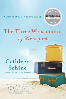 Book The Three Weissmanns of Westport: A Novel by Cathleen Schine