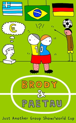 Brody & Paetau: Just Another Group Show / World Cup: Fixed layout comic / graphic novel (art book / artists' book) no. 2 by Ondrej Brody