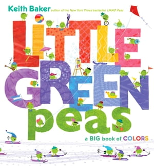 Little Green Peas A Big Book of Colors (with audio recording)