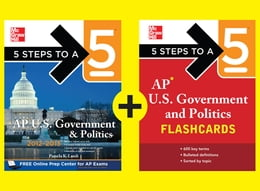 Book 5 Steps to a 5 AP U.S. Government and Politics by Pamela K. Lamb