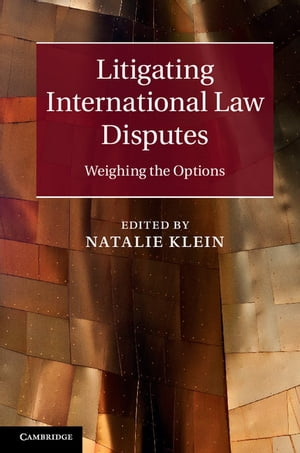Litigating International Law Disputes Weighing the Options