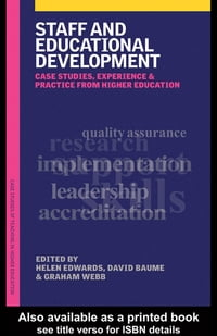 Staff and Educational Development: Case Studies, Experience and Practice
