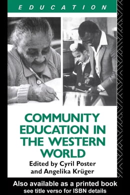 Book Community Education and the Western World by Kruger, Angelika