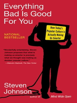 Book Everything Bad is Good for You by Steven Johnson