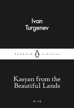 Book Kasyan from the Beautiful Lands by Ivan Turgenev