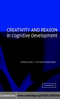 Creativity and Reason in Cognitive Development