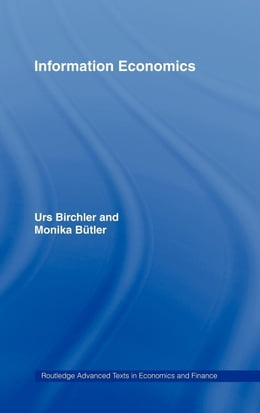 Book Information Economics by Birchler, Urs