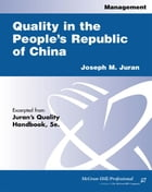 Quality in the People's Republic of China