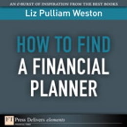 Book How to Find a Financial Planner by Liz Weston