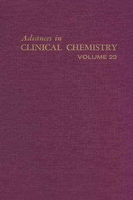 Book Advances in Clinical Chemistry by Latner, A.L.