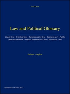 Law and Political Glossary
