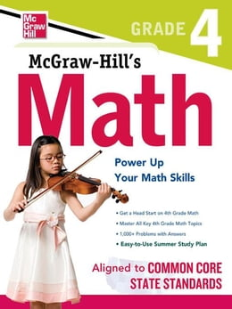 Book McGraw-Hill Math Grade 4 by McGraw-Hill Editors