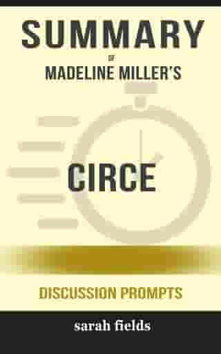 Circe by Madeline Miller (Discussion Prompts)