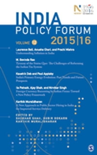 India Policy Forum 2015–16: Volume 12