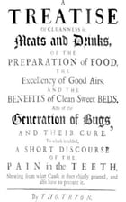 A Treatise of Cleanness in Meats and Drinks, Airs, and the Benefits of Clean by Thomas Tryon