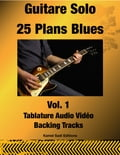 9791092506631 - Kamel Sadi: Guitare Solo 25 Plans Blues Vol. 1 - Livre
