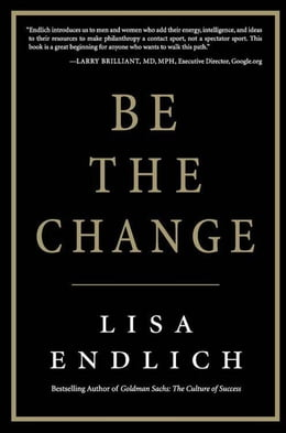 Book Be the Change by Lisa Endlich
