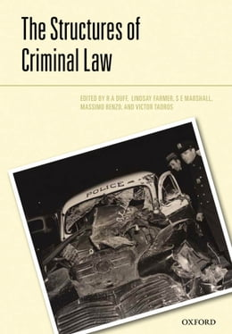 Book The Structures of the Criminal Law by R.A. Duff