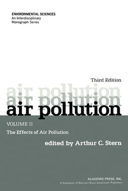 Book Air Pollution: The Effects of Air Pollution by Stern, Arthur C.