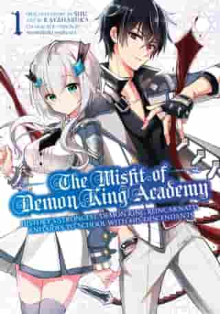 The Misfit of Demon King Academy 1: History's Strongest Demon King Reincarnates and Goes to School with His Descendants de Shu
