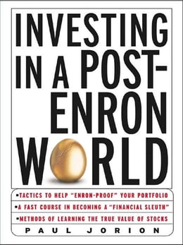 Book Investing in a Post-Enron World by Jorion, Paul