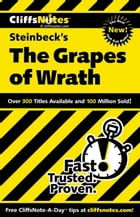 CliffsNotes on Steinbeck's The Grapes of Wrath by Kelly M Vlcek