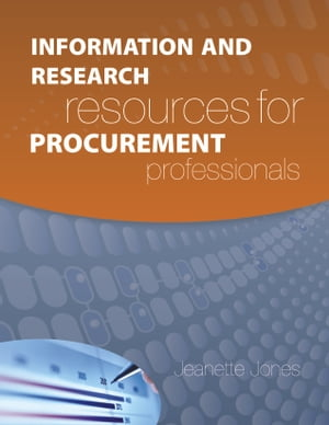 Information and Research Resources for Procurement Professionals