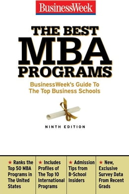 Book The Best MBA Programs by Merritt, Jennifer