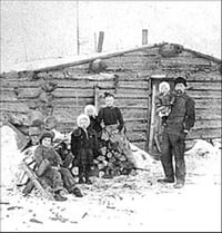 The Cabin on the Prairie (1869)