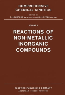 Book Reactions of Non-Metallic Inorganic Compounds by Compton, R.G.