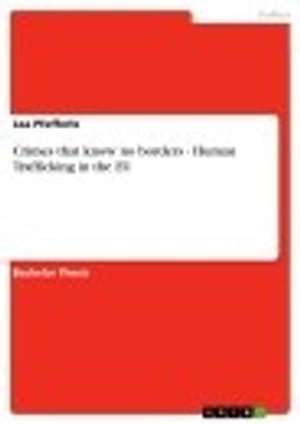Crimes that know no borders - Human Trafficking in the EU