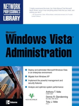 Book Microsoft Windows Vista Administration by Velte, Anthony