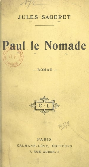 Paul le Nomade by Jules Sageret