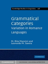 Grammatical Categories: Variation in Romance Languages
