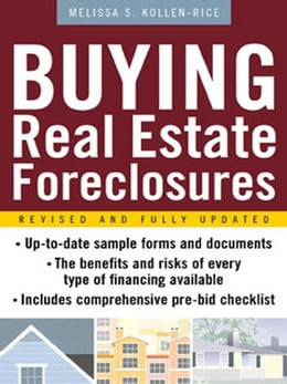 Book Buying Real Estate Foreclosures by Kollen-Rice, Melissa