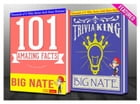 Big Nate - 101 Amazing Facts & Trivia King!: GWhizBooks.com by G Whiz