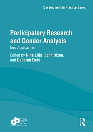 Participatory Research and Gender Analysis New Approaches