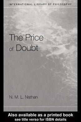Book The Price of Doubt by Nathan, Nicholas
