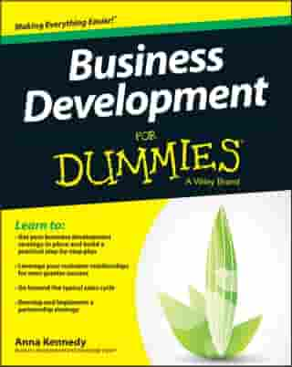 Business Development For Dummies by Anna Kennedy