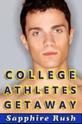 College Athletes Getaway (bisexual MMF threesome)