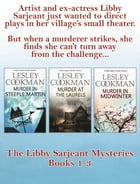 A Libby Sarjeant Murder Mystery Boxset Vol 1 by Lesley Cookman
