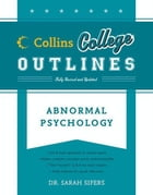 Abnormal Psychology by Sarah Sifers