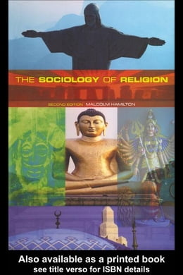 Book The Sociology of Religion by Hamilton, Malcolm